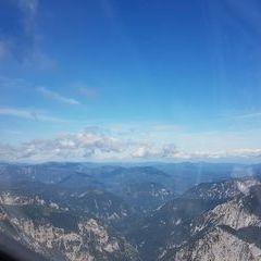 Flugwegposition um 08:52:21: Aufgenommen in der Nähe von Gemeinde Reichenau an der Rax, Österreich in 1973 Meter