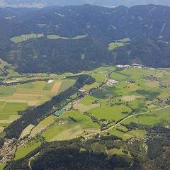 Flugwegposition um 10:21:20: Aufgenommen in der Nähe von Aflenz Land, Österreich in 2068 Meter