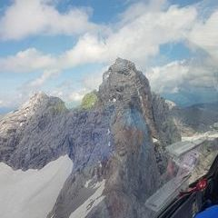 Flugwegposition um 12:45:52: Aufgenommen in der Nähe von Gemeinde Ramsau am Dachstein, 8972, Österreich in 2748 Meter