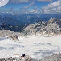 Flugwegposition um 12:46:20: Aufgenommen in der Nähe von Gemeinde Ramsau am Dachstein, 8972, Österreich in 2782 Meter