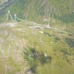 Flugwegposition um 13:09:40: Aufgenommen in der Nähe von Gemeinde Schöder, Österreich in 2531 Meter