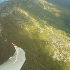 Flugwegposition um 13:46:56: Aufgenommen in der Nähe von St. Marein bei Neumarkt, Österreich in 2392 Meter