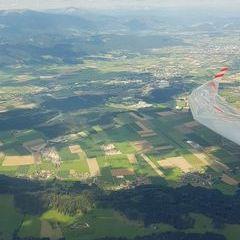 Flugwegposition um 13:52:39: Aufgenommen in der Nähe von Eppenstein, Österreich in 2378 Meter