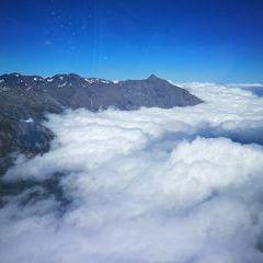 Verortung via Georeferenzierung der Kamera: Aufgenommen in der Nähe von Savoyen, Frankreich in 3500 Meter