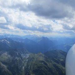 Flugwegposition um 13:34:30: Aufgenommen in der Nähe von Gemeinde Gerlos, 6281 Gerlos, Österreich in 3387 Meter