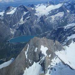 Flugwegposition um 14:14:44: Aufgenommen in der Nähe von Niedernsill, 5722, Österreich in 3567 Meter