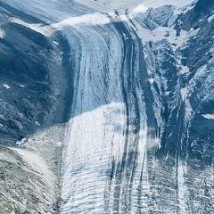 Flugwegposition um 12:37:38: Aufgenommen in der Nähe von Département Haute-Savoie, Frankreich in 3252 Meter