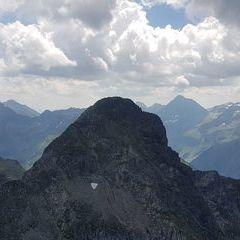 Verortung via Georeferenzierung der Kamera: Aufgenommen in der Nähe von Gemeinde Haus, Österreich in 2600 Meter