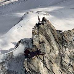 Flugwegposition um 15:17:58: Aufgenommen in der Nähe von Département Haute-Savoie, Frankreich in 3961 Meter