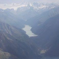 Flugwegposition um 14:19:17: Aufgenommen in der Nähe von Gemeinde Kaunertal, Österreich in 3232 Meter