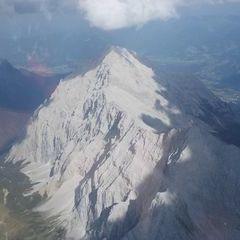 Flugwegposition um 15:44:02: Aufgenommen in der Nähe von Gemeinde Absam, Absam, Österreich in 2835 Meter