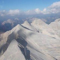 Flugwegposition um 16:52:04: Aufgenommen in der Nähe von Gemeinde Scharnitz, 6108, Österreich in 2644 Meter