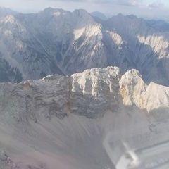 Flugwegposition um 17:07:09: Aufgenommen in der Nähe von Gemeinde Absam, Absam, Österreich in 2476 Meter