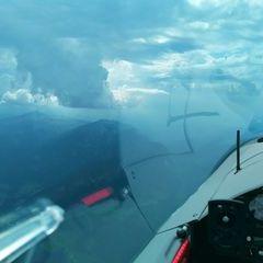 Flugwegposition um 14:29:17: Aufgenommen in der Nähe von Oberallgäu, Deutschland in 2414 Meter