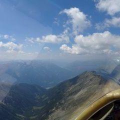 Flugwegposition um 10:39:32: Aufgenommen in der Nähe von Gemeinde Obervellach, 9821, Österreich in 2888 Meter