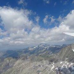 Flugwegposition um 10:39:38: Aufgenommen in der Nähe von Gemeinde Obervellach, 9821, Österreich in 2868 Meter