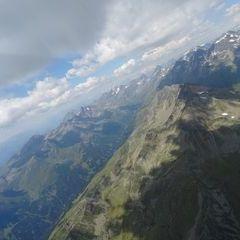 Flugwegposition um 11:07:01: Aufgenommen in der Nähe von Gemeinde Winklern, Österreich in 3235 Meter