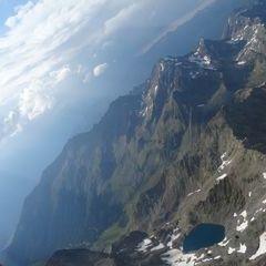 Flugwegposition um 15:13:44: Aufgenommen in der Nähe von Gemeinde Ainet, 9951 Ainet, Österreich in 3353 Meter