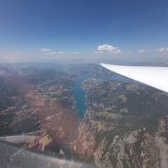 Flugwegposition um 11:26:11: Aufgenommen in der Nähe von Département Alpes-de-Haute-Provence, Frankreich in 2825 Meter