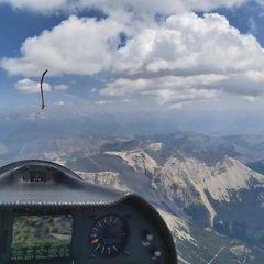 Flugwegposition um 11:00:08: Aufgenommen in der Nähe von Département Hautes-Alpes, Frankreich in 3302 Meter