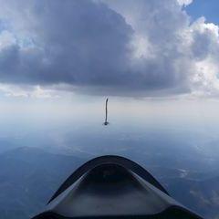 Flugwegposition um 14:27:58: Aufgenommen in der Nähe von Département Alpes-de-Haute-Provence, Frankreich in 3386 Meter