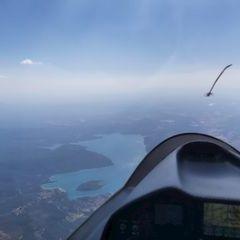 Flugwegposition um 14:46:01: Aufgenommen in der Nähe von Département Alpes-de-Haute-Provence, Frankreich in 3040 Meter