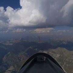 Flugwegposition um 15:16:12: Aufgenommen in der Nähe von Département Alpes-de-Haute-Provence, Frankreich in 3373 Meter