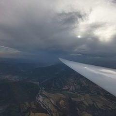 Flugwegposition um 16:58:39: Aufgenommen in der Nähe von Département Hautes-Alpes, Frankreich in 2300 Meter