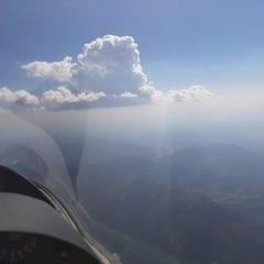 Flugwegposition um 14:24:35: Aufgenommen in der Nähe von Département Alpes-de-Haute-Provence, Frankreich in 3717 Meter