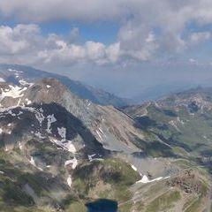 Flugwegposition um 10:14:17: Aufgenommen in der Nähe von Gemeinde Heiligenblut, 9844, Österreich in 2930 Meter