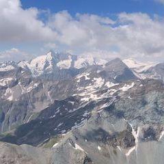 Flugwegposition um 10:03:36: Aufgenommen in der Nähe von Gemeinde Rauris, 5661, Österreich in 3005 Meter