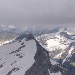Flugwegposition um 09:57:56: Aufgenommen in der Nähe von Gemeinde Rauris, 5661, Österreich in 3041 Meter