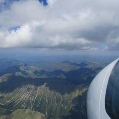 Flugwegposition um 13:05:59: Aufgenommen in der Nähe von Krakaudorf, Österreich in 3224 Meter