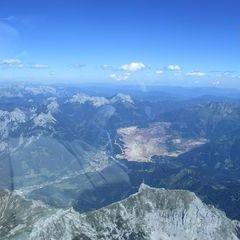 Flugwegposition um 13:49:01: Aufgenommen in der Nähe von Radmer, 8795, Österreich in 2877 Meter