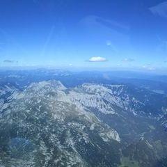 Flugwegposition um 14:04:25: Aufgenommen in der Nähe von Tragöß-Sankt Katharein, Österreich in 3220 Meter