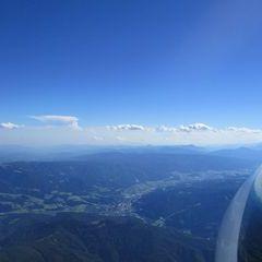 Flugwegposition um 14:41:17: Aufgenommen in der Nähe von Kapellen, Österreich in 3136 Meter