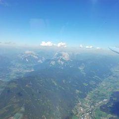 Flugwegposition um 15:10:33: Aufgenommen in der Nähe von Gemeinde Lassing bei Selzthal, Österreich in 3028 Meter