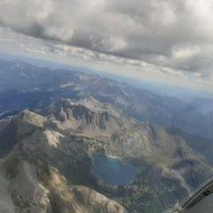 Flugwegposition um 14:16:49: Aufgenommen in der Nähe von Département Alpes-de-Haute-Provence, Frankreich in 3458 Meter