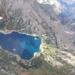 Flugwegposition um 14:41:06: Aufgenommen in der Nähe von Département Alpes-de-Haute-Provence, Frankreich in 3284 Meter