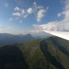 Flugwegposition um 16:24:35: Aufgenommen in der Nähe von Gaishorn am See, Österreich in 1651 Meter