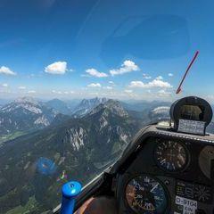 Verortung via Georeferenzierung der Kamera: Aufgenommen in der Nähe von Admont, Österreich in 2400 Meter