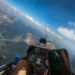 Verortung via Georeferenzierung der Kamera: Aufgenommen in der Nähe von Eisenerz, Österreich in 3000 Meter