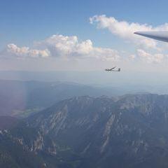 Flugwegposition um 13:34:59: Aufgenommen in der Nähe von Tragöß-Sankt Katharein, Österreich in 2694 Meter