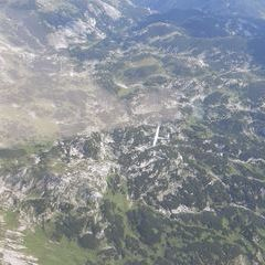 Flugwegposition um 13:37:27: Aufgenommen in der Nähe von St. Ilgen, 8621 St. Ilgen, Österreich in 2528 Meter