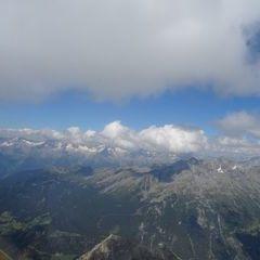 Flugwegposition um 11:10:07: Aufgenommen in der Nähe von 39032 Sand in Taufers, Südtirol, Italien in 3053 Meter