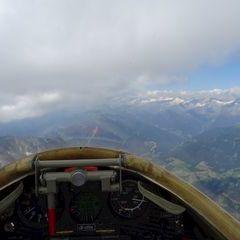 Flugwegposition um 11:10:05: Aufgenommen in der Nähe von 39032 Sand in Taufers, Südtirol, Italien in 3056 Meter