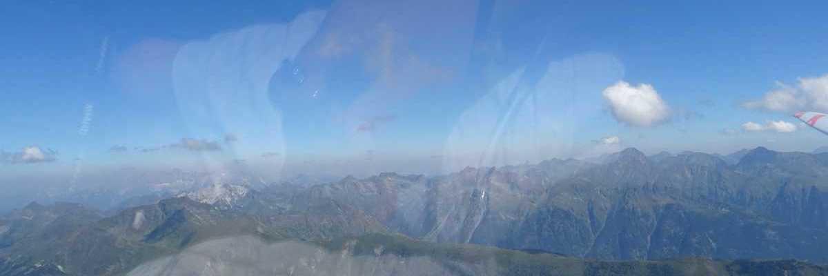 Flugwegposition um 09:46:23: Aufgenommen in der Nähe von Gemeinde Tweng, Tweng, Österreich in 2630 Meter