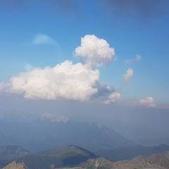Flugwegposition um 15:39:57: Aufgenommen in der Nähe von Gemeinde Gaal, Österreich in 2949 Meter