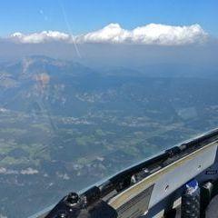 Flugwegposition um 09:51:01: Aufgenommen in der Nähe von Gemeinde Schottwien, Österreich in 2518 Meter