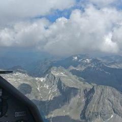 Flugwegposition um 13:35:17: Aufgenommen in der Nähe von Mallnitz, Österreich in 3186 Meter